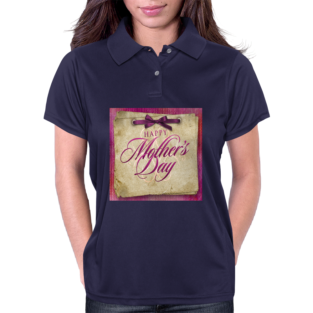 Happy Mother's Day Womens Polo
