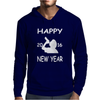 Happy New Year 2016. Mens Hoodie
