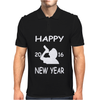 Happy New Year 2016. Mens Polo