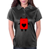 Happy Red Devil Womens Polo
