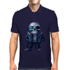 happy skeleton Mens Polo