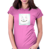 Happy Snowman Womens Fitted T-Shirt