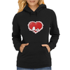 Happy valentine day snoopy Womens Hoodie