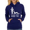 Happy Wife Happy Life Funny Womens Hoodie