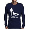 Happy Wife Happy Life Mens Long Sleeve T-Shirt
