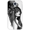 Harajuku style (black and white) by Rouble Rust Phone Case