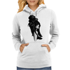Harajuku style (black and white) by Rouble Rust Womens Hoodie