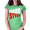 Hard Style Bass Edm Music Womens Fitted T-Shirt