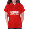 Hardest Part Zombie Apocalypse Womens Polo
