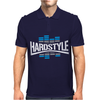 Hardstyle Blue EQ Mens Polo
