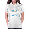 Hardstyle Blue EQ Womens Polo
