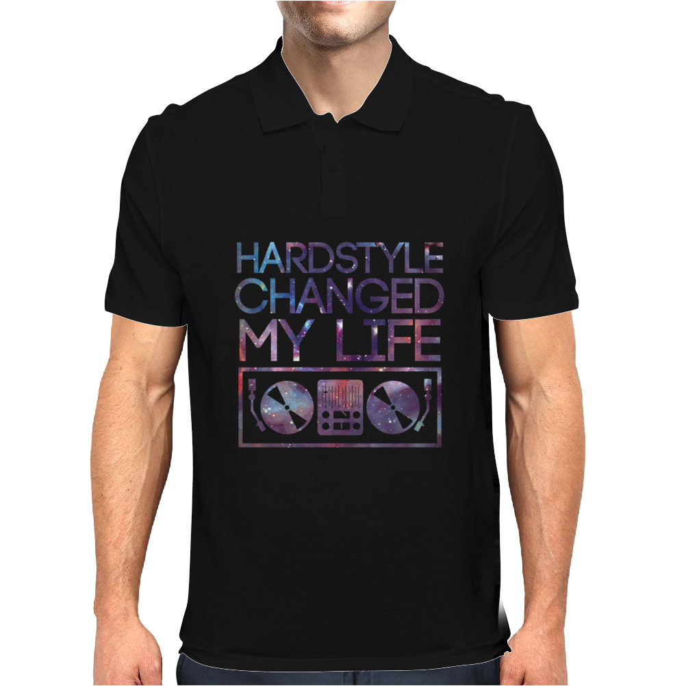 Hardstyle Changed My Life Mens Polo
