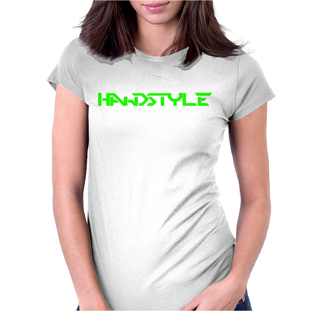 Hardstyle In My Veins Womens Fitted T-Shirt