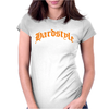 Hardstyle Skull Womens Fitted T-Shirt