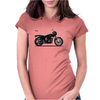 Harley-Davidson XLCR 1977 Womens Fitted T-Shirt