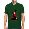 Harley quinn guns Mens Polo