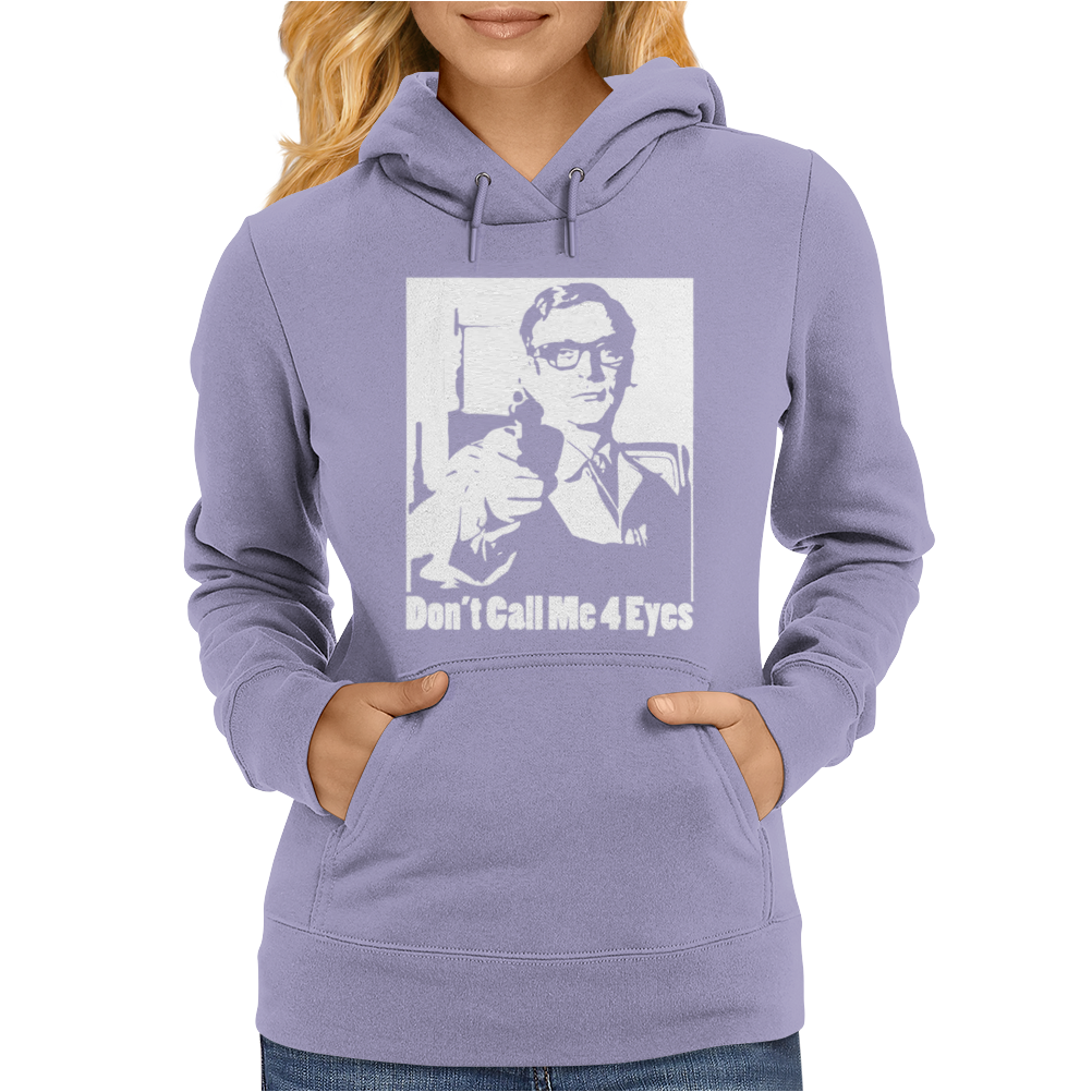 Harry Palmer Don't Call Me Four Eyes Womens Hoodie