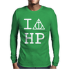 Harry Potter Deathly Hallows Mens Long Sleeve T-Shirt