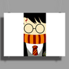 Harry potter face Poster Print (Landscape)
