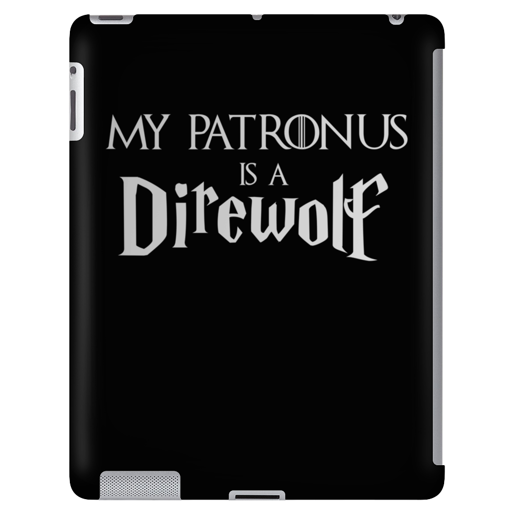 Harry Potter Game of thrones Patronus Direwolf Tablet