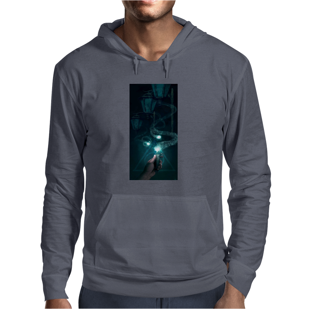 Harry Potter Ron and the Deluminator Mens Hoodie
