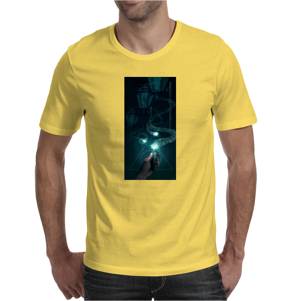 Harry Potter Ron and the Deluminator Mens T-Shirt