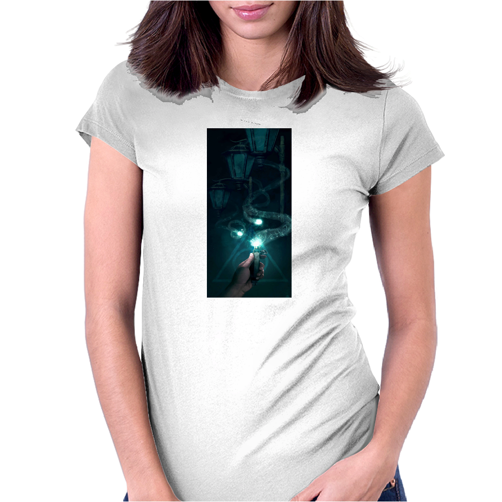 Harry Potter Ron and the Deluminator Womens Fitted T-Shirt