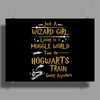 Harry Potter Wizard Girl Poster Print (Landscape)