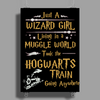 Harry Potter Wizard Girl Poster Print (Portrait)