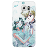 Haruka and Michiru Watercolor Phone Case