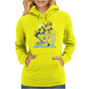 Haruka and Michiru Watercolor Womens Hoodie