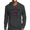 Harvard Law Just Kidding - funny Mens Hoodie