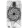 Hatched spiral Phone Case