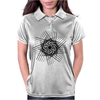 Hatched spiral Womens Polo