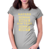 Haters Gonna Hate Ain'ters Gonna Ain't. Womens Fitted T-Shirt