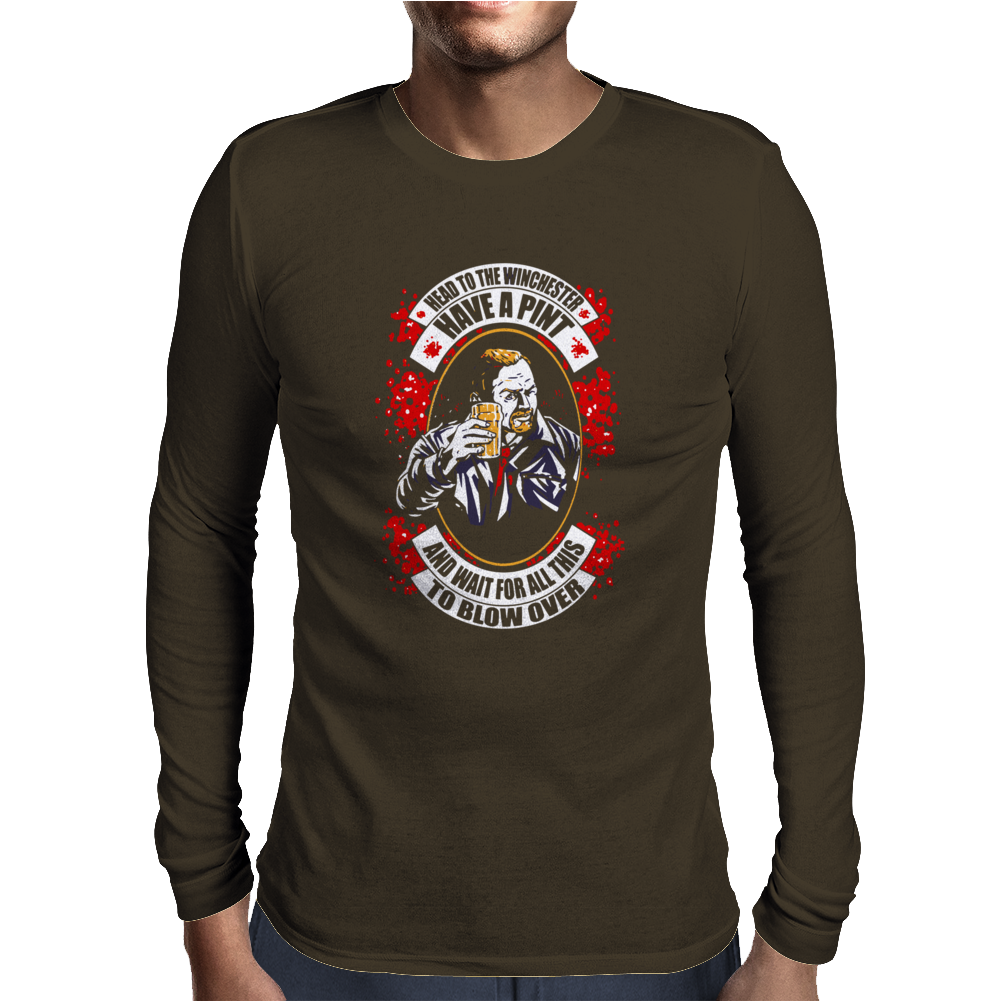 Have a Pint Mens Long Sleeve T-Shirt