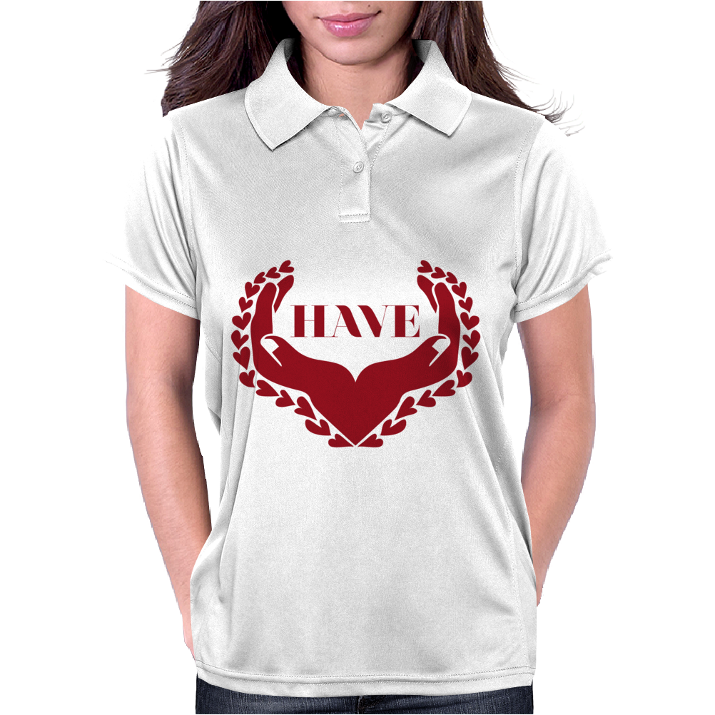 Have Heart Womens Polo