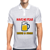 Have no fear Mens Polo