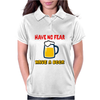 Have no fear Womens Polo