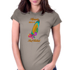Hawaii Surf Contest 2014 Womens Fitted T-Shirt