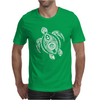 Hawaiian Turtle Tribal Art Mens T-Shirt