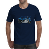 Hayabusa in Blue Mens T-Shirt
