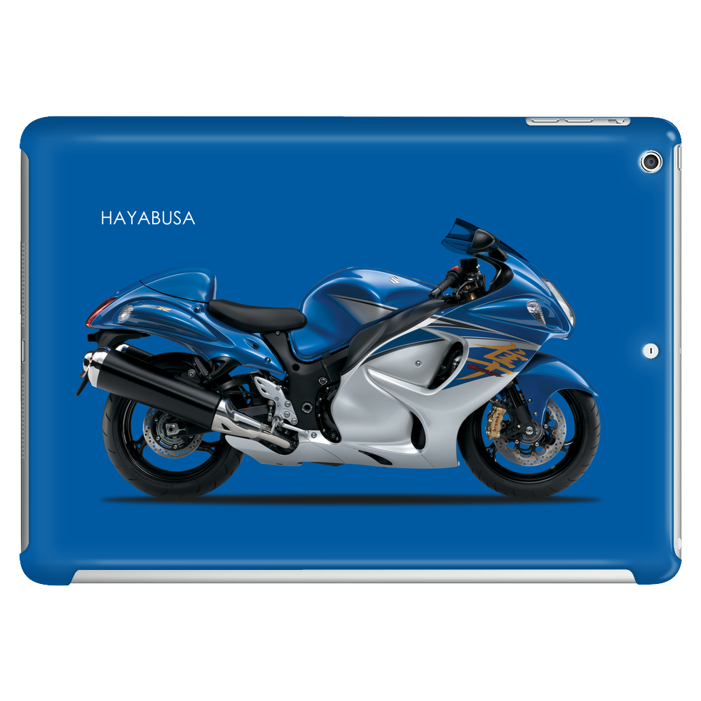 Hayabusa in Blue Tablet (horizontal)