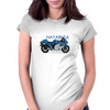 Hayabusa in Blue Womens Fitted T-Shirt