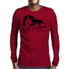 Head Shot Mens Long Sleeve T-Shirt