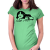 Head Shot Womens Fitted T-Shirt