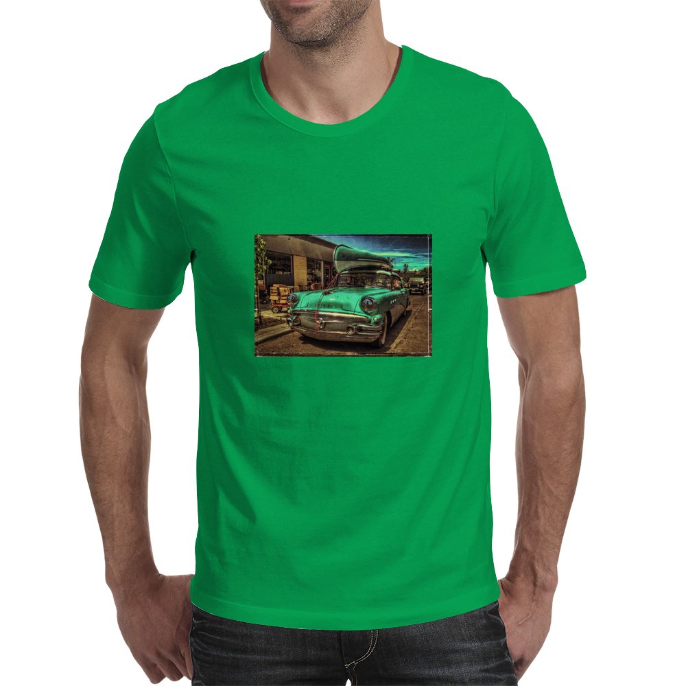 Headin' For The River Mens T-Shirt