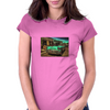 Headin' For The River Womens Fitted T-Shirt