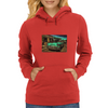 Headin' For The River Womens Hoodie