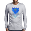Headphones Mens Long Sleeve T-Shirt